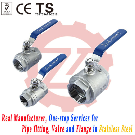"1/4"" - 4"" Stainless Steel Full Port 1000wog Ball Valve pictures & photos"