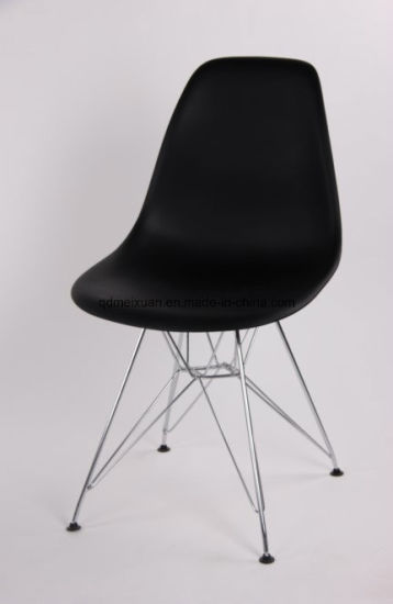 Terrific China Modern Black Plastic Resin Chair With Metal Feet M Caraccident5 Cool Chair Designs And Ideas Caraccident5Info