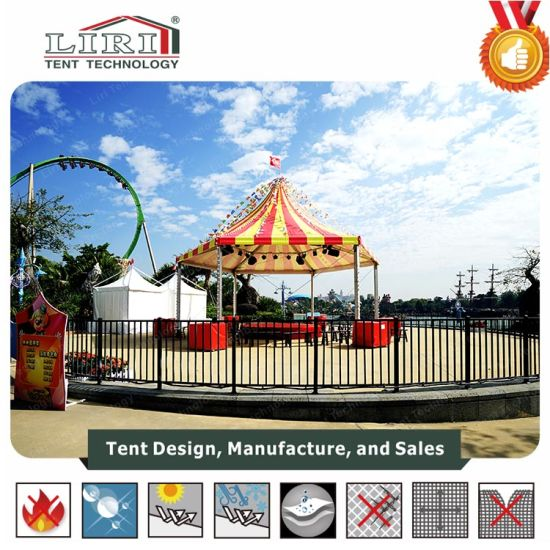 Second Hand Hexagonal Wedding Tent with Colorful Roof for Events pictures & photos