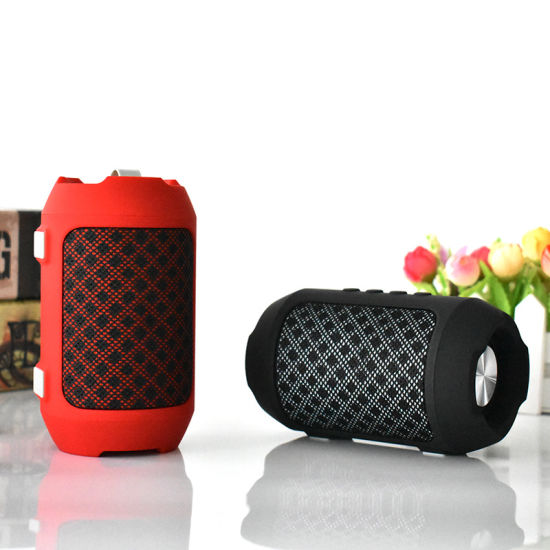 Outdoor Portable Powerful Fabric Bluetooth Speaker Support TF Card
