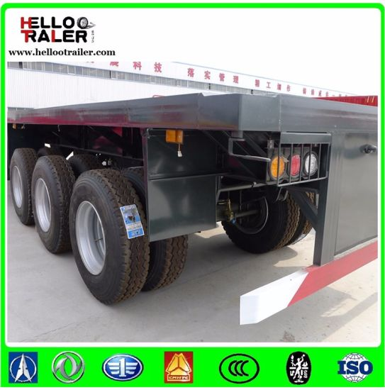 Semi Trailer 20FT Container Truck Trailer 40FT Container Trailer Truck pictures & photos