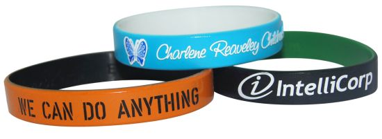 Double Layer Silicone Bracelet with Reusable and New Style