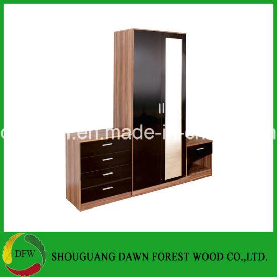 China New Design Mirror Bedroom Sets Of Bedroom Furniture For Sale