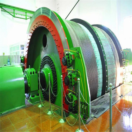 Single Tubular Winding Mine Hoist Winch pictures & photos