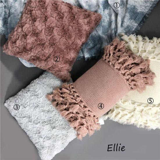 Acrylic Tassels Sofa Cushions / Color Pillows Home Decorative Cushions