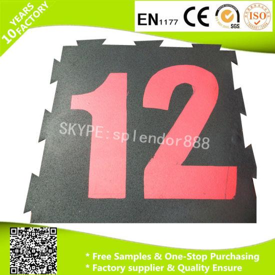 Free Printing for Interlock Rubber Training Flooring Mats