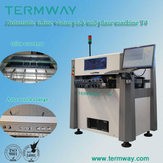Full Automatic High Speed SMD Pick and Place Machine T4