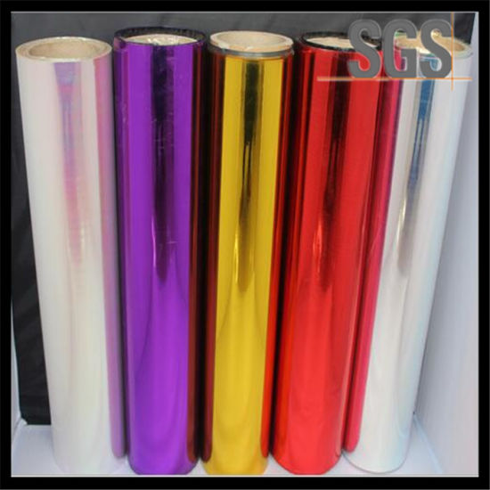 22mic Pet Metalized Film BOPP Metalized Thermal Laminating Film pictures & photos