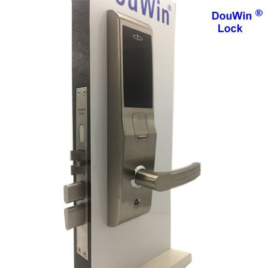Safety Equipment Biometric Door Handle Fingerprint Lock