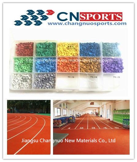 Good Performance Rubber EPDM Granule for Plastic Running Track, Runway