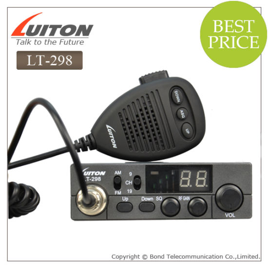 CE Approved CB Radio Lt-298 with 4W/10W CB Transceiver