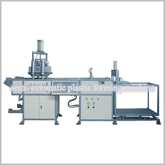 Plastic BOPS Material Semi Automatic Thermoforming Machine (HY-510580B) pictures & photos