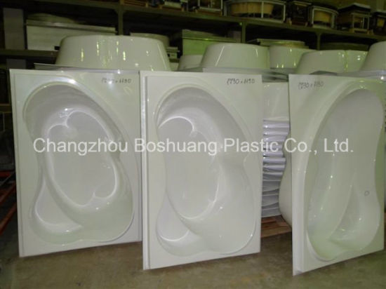 Extruded White Acrylic /ABS Sheet for Sanitary Ware Bathtub Shower Room with MSDS pictures & photos