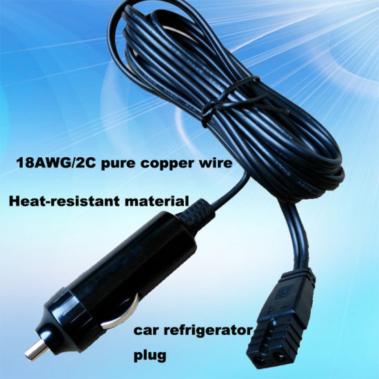12V/24V 15A-20A Large Current Car Refrigerator Plug Wire pictures & photos