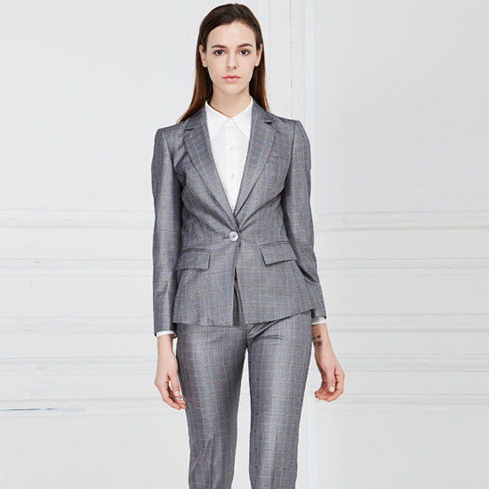 b26070135 Low Price New Fashioned Luxury Latest Formal Woman Suits pictures & photos