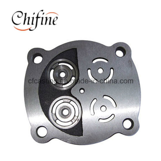 Air Compressor Valve Parts Made by Ductile Iron Sand Casting pictures & photos