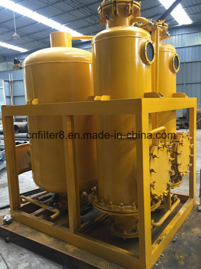 China Restore Oil Color of Coconut Oil Purification Machine