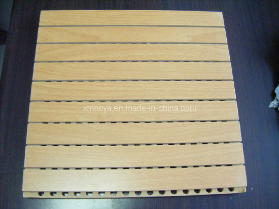 Acoustic Wooden Driling Sound Absorbing Wall Board Panels