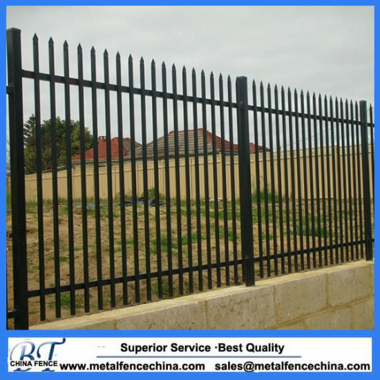 2100mm 2400mm Ornamental Tubular Garrison Fencing For Australia Market