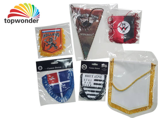 Customize All Sorts of Table Flag, Team Flag, Desk Flag pictures & photos