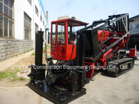 Horizontal Directional Drilling Rig, Trenchless Drill Machine (DDW-3512) with Closed Cabin and AC