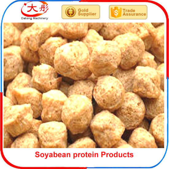 Soya Nuggets Textured Soya Fiber Soya Processing Line pictures & photos