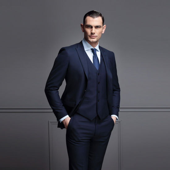 Fashion Design Man Business Suits Italian Man Suits pictures & photos