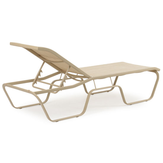 Aluminium Frame Patio Cay Sal Armless Chaise Lounge Chairs pictures & photos