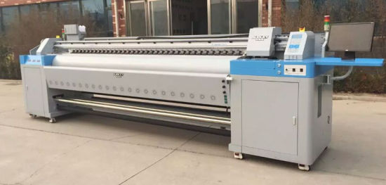 Audley 10 FT Large Format Digital Printing Machine with Double Dx7 Head