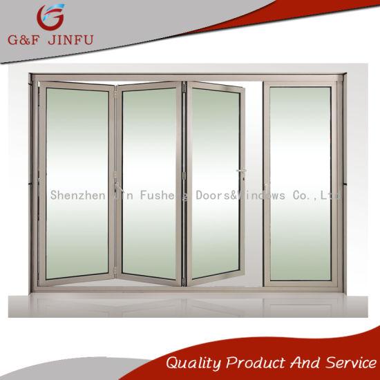 China Australian Standard Aluminium Bi-Folding Door with Double ...