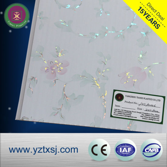 Yangzhou Manufacturer PVC Ceiling Panels Laminated pictures & photos