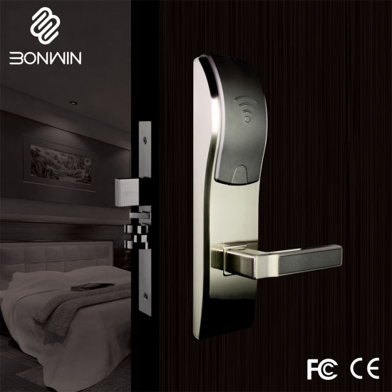 Electronic Hotel Door Lock with Smart Card (BW803BG-S) pictures & photos