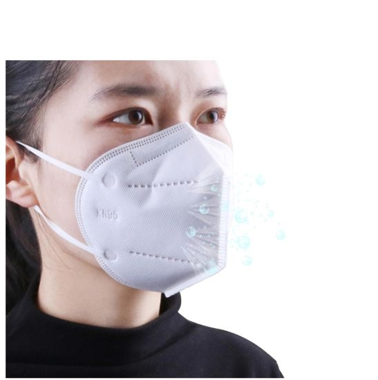 Disposable PPE Face Mask 5 Ply Mask with Earloop KN95 Face Mask