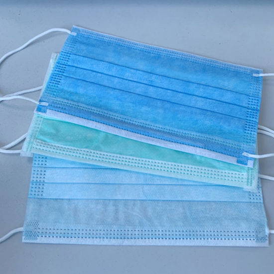 High Quality Disposable Face Mask Non Woven 3ply Mask Face