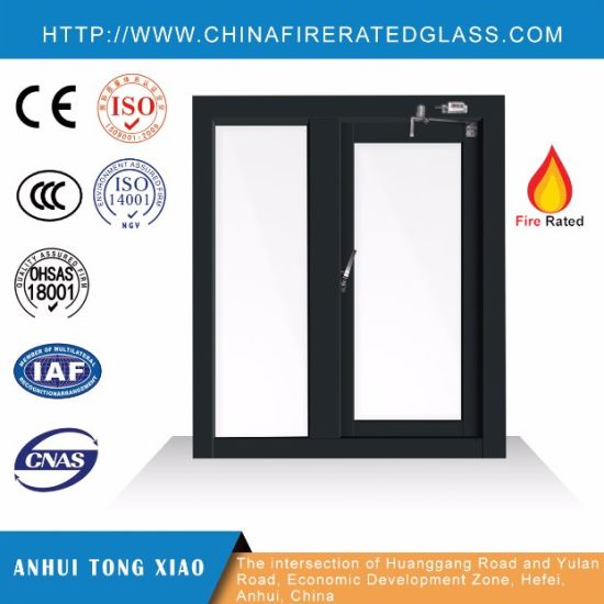 China Steel Frame Fire Rated Windows Ei 60 China Fire