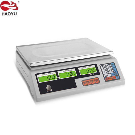 Electronic Haoyu Scale Price Computing with New Model-White Base