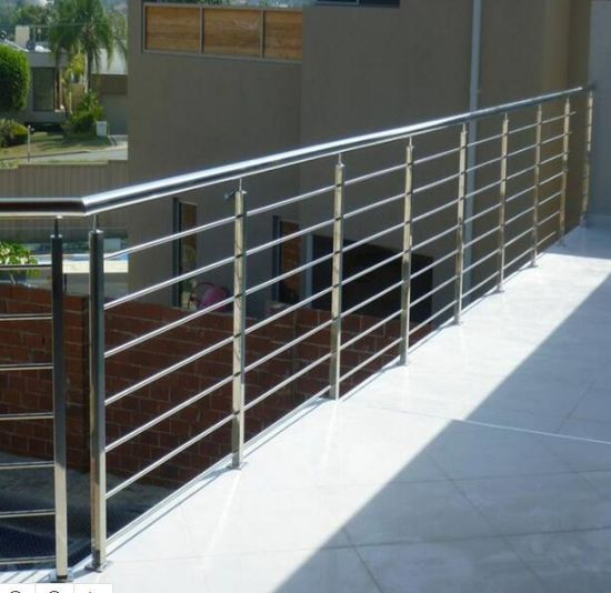 China High Quality Stainless Steel Glass Balustrade Modern Balcony
