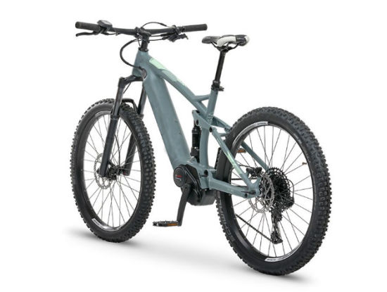 Wholesale Hidden Lithium Battery Mountain Electric Bike with Full Suspension