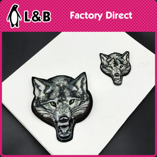 Animal Embroidery Hot Fix Badges