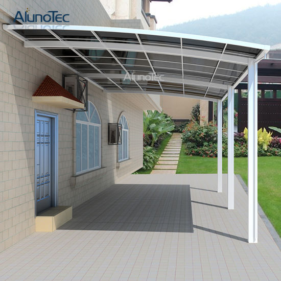 Sunshading Awning Roof for Cars Aluminum Carport pictures & photos