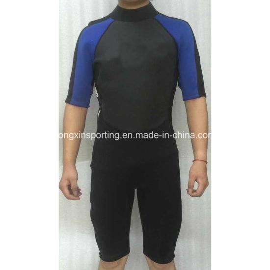 Short Neoprene Nylon Surfing Wetsuit Swimwear Sports Wear (HX15S64)  pictures   photos eb61996f3