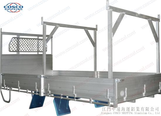 Aluminum Rear Drop Side Body Truck Bed Isuzu pictures & photos