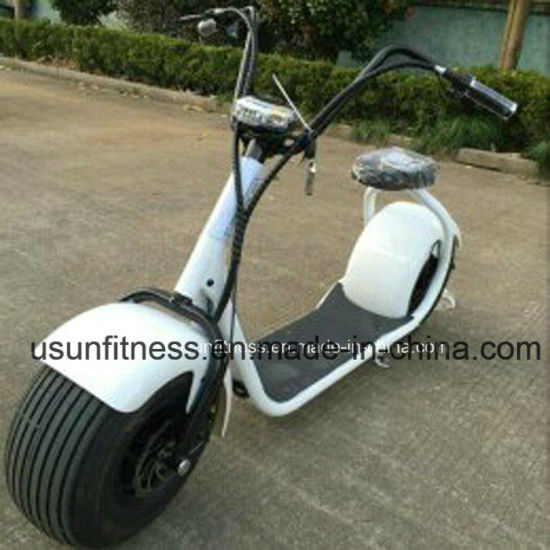 2018 New Design Electric Scooter Electric Motorcycle Vehicle with Ce pictures & photos