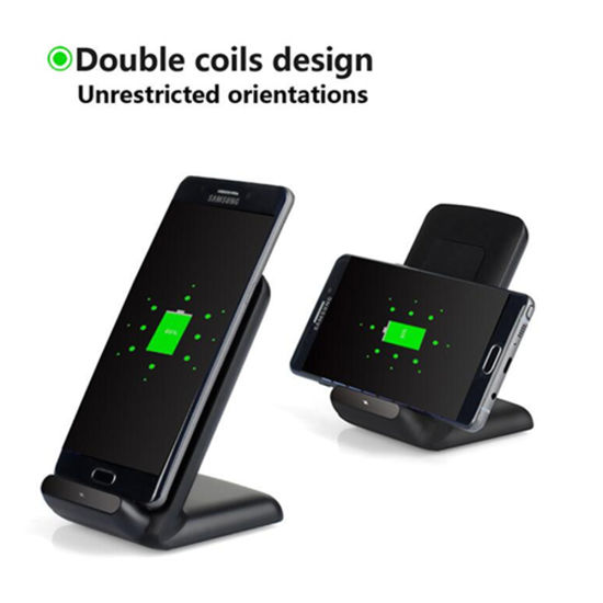 New Arrival Mobile Phone Accessoris Qi WPC 1.2 Wireless Phone Charger for Samsung pictures & photos