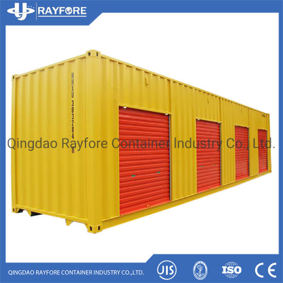 Customized Shipped to Canada 40FT Shutter roller Door Storage Container (customized)