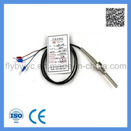 SS304 SS316 Screw Thread Temperature Sensor PT100 Rtd
