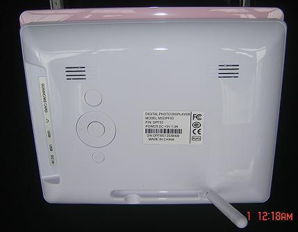 China Loop Video LED HD 1080P Screen Display 8 Inch Digital Photo ...