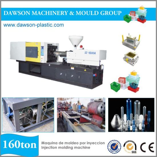 Plastic Injection Molding Machine with Magnetic Quick Mold Change System