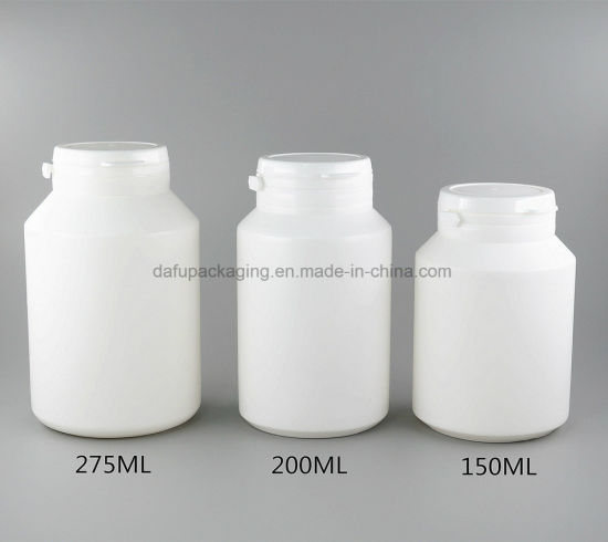 Plastic Products 275ml HDPE Capsule Plastic Container with Tearing Cap