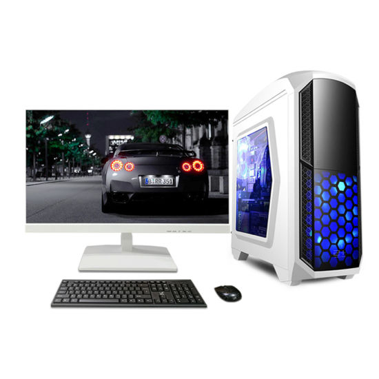 High Quality Factory Gaming Desktop Computer Case with I7 CPU Win 7 Desktop Computer pictures & photos